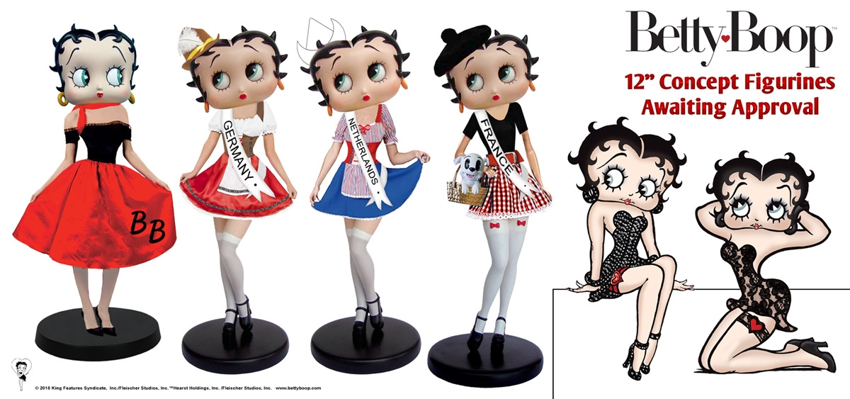 Betty Boop Concepts