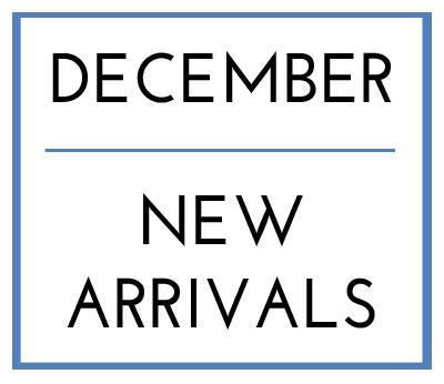 December New Arrivals