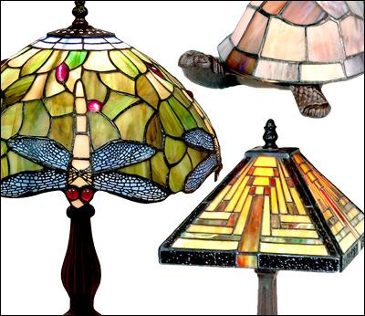 Tiffany Lamps & Accessories