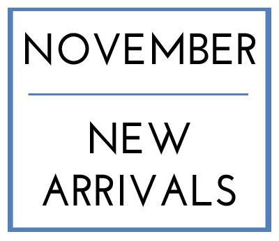November New Arrivals