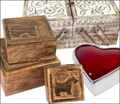 Decorative Boxes - Jewel/Gift Etc