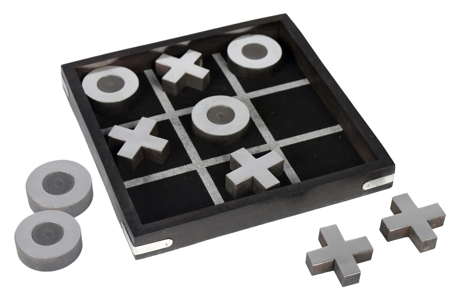 Tic Tac Toe Magnetic Black