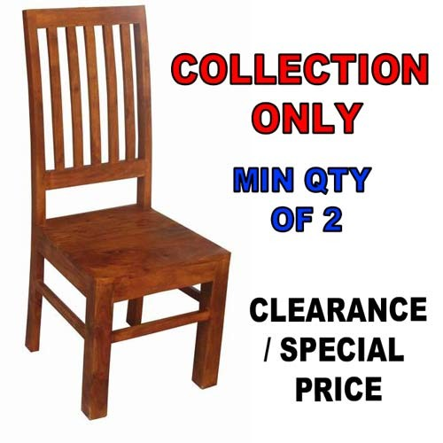 Acacia Lisbon Chair - COLLECTION ONLY