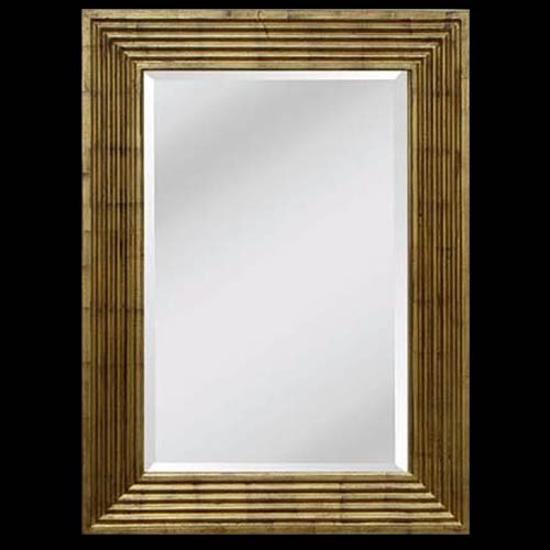 Country Gold Frame with Bevel Mirror 120x90cm