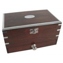 Jewellery Box with Drawer & Mirror