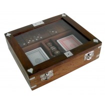 Cards, Dice & Dominoes In Box
