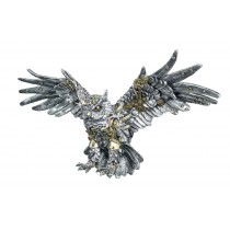 Mechanical Owl - Wings Outstretched Wall Art - 48cm