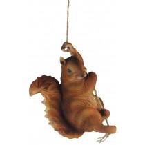 Hanging Squirrel 28cm
