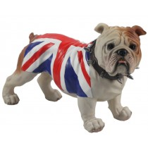 Bulldog Standing (Union Jack) 29cm