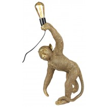 Monkey Crouching Lamp 63.0cm - (Bulbs Not Included)