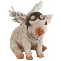 Flying Sitting Pig 24.0cm