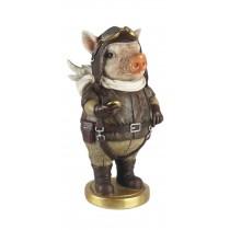 Flying Standing Pig 26.5cm