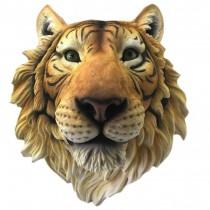 Tiger Head Wall Hanging 37.5cm