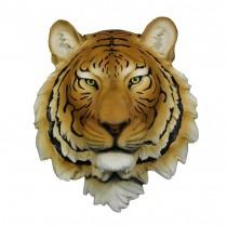 Tiger Head Wall Hanging 27.5cm