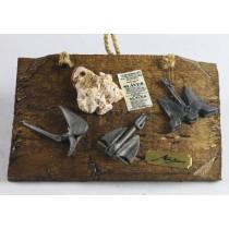 Antiqued Anchor Plaque