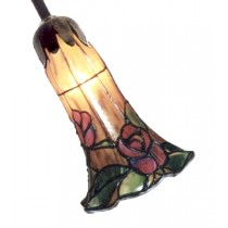 Pond Lily Shade - Rose Design