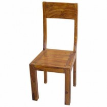 Acacia Square Leg Chair ** Seconds - Job Lot 13 **