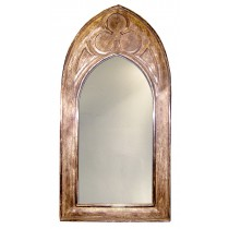 Mango Wood Gothic Mirror (Small)