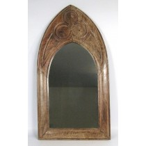 Mango Wood Gothic Mirror (Large)