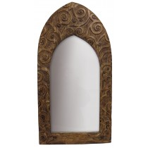 Mango Wood Tree Of Life Design Mirror (Small)