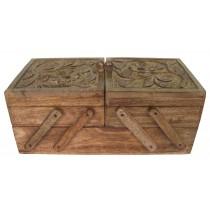 Mango Wood Flexible Box