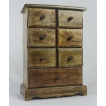 Mango Wood 7 Drawer Chest