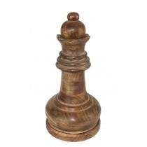 Mango Wood Queen Chess Piece 36cm