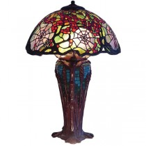Spiderweb Tiffany Table Lamp