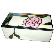 Mackintosh Style Tiffany Jewellery Box