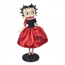 Betty Boop In 50's Costume **With Fabric Clothes**