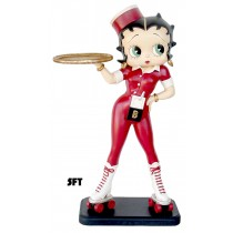 Betty Boop Rollerskate Waitress 5ft