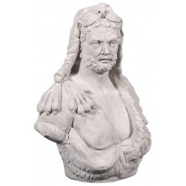 Hercules Bust - Roman Stone Finish