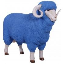 Merino Ram - Blue - 110cm