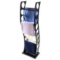 Aluminium Towel Rail - Black Finish