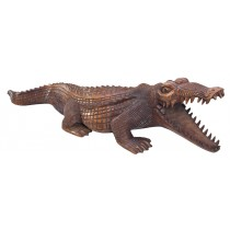 Wooden Crocodile 100cm