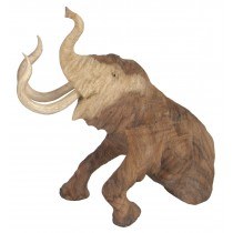 Wooden Mammoth 30cm