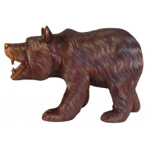 Wooden Bear Walking