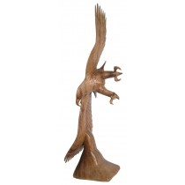 Wooden Flying Eagle