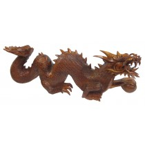 Wooden Dragon 80cm - Last one with front tooth missing