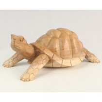 Wooden Tortoise - Natural Finish