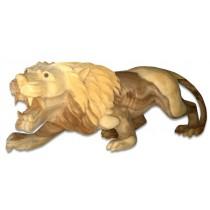 Wooden King Lion - Suar Wood - 60cm