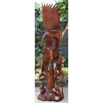 Wooden Eagle - Suar Wood - 150cm