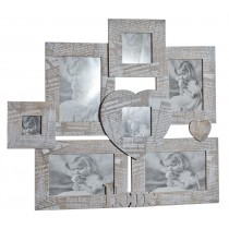 Journal 7 Multi Wall Photo Frame