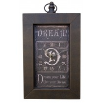 Dream Oblong Wall Clock *MIN QTY 10*