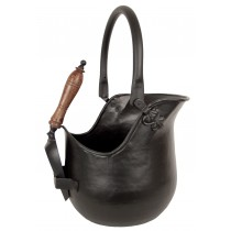 Bucket With Shovel - Black Finish