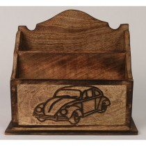 Retro Car Design Letter Rack