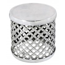 Aluminium Riveted Round Stool **EX DISPLAY**