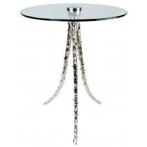 Aluminium Cactus Table Glass Top