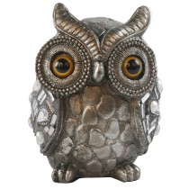 Silver Owl 11cm