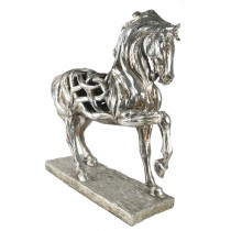 Hollow Horse With Leg Up 51cm